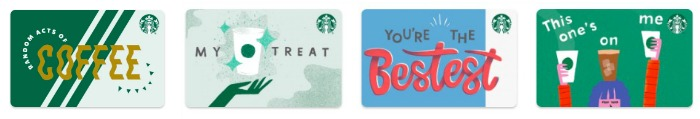 Starbucks Gift Cards