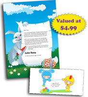 >A letter from the Easter Bunny…