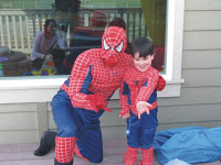 >The Spiderman Birthday Party….