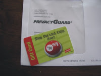 >$30 Staples Gift Card for 30 day Privacy Guard Trial…