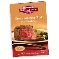 >FREE Cookbook from Omaha Steaks…