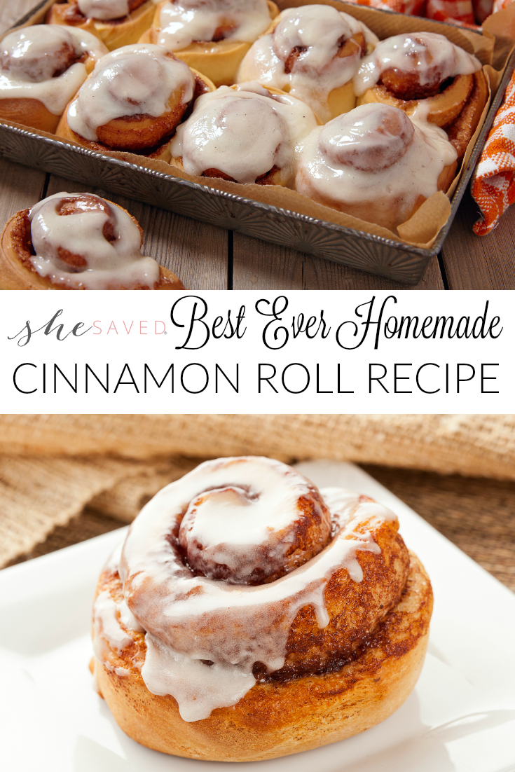 This is the BEST Homemade Cinnamon Roll Recipe that you will find, made from scratch and so delicious!