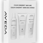 >FREE 3-piece sample pack of Aveda Color Conserve Shampoo, Conditioner and Strengthening Treatment …