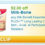 FREE Milk-Bone Essentials at Petsmart…