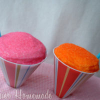 Guest Post: Snow Cone Cupcakes