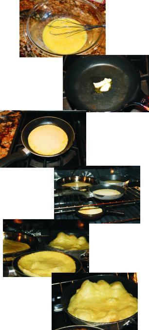 Sunday Sweet Sunday … German Pancakes…