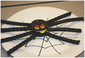 Halloween Arts & Crafts: Oreo Cookie Spiders - SheSaved®