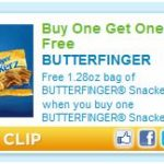 BOGO FREE Butterfingers Snackerz Coupon…