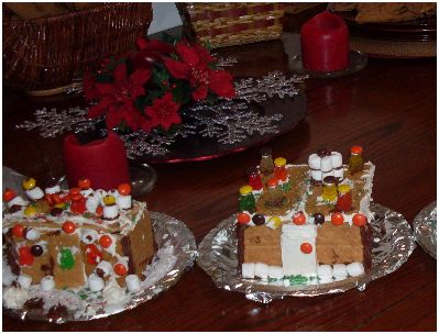 Guest Project: Graham Cracker Houses…