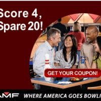 Hurry and Print! $20 off Your Next Bowling Game Coupon is Back…