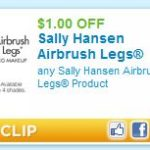 $1.00 off of Sally Hansen Airbrush Legs Printable Coupon