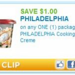 *HOT* $1.00 Off Philadelphia Cooking Cream Printable Coupon