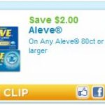 $2.00 Off Aleve Printable Coupon