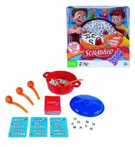 Winner, Winner, WINesday #3: Scrabble Alphabet Scoop Game Review and Giveaway