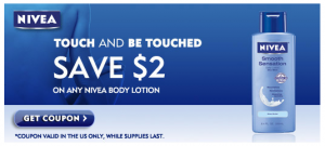 $2/1 Nivea Body Lotion Printable Coupon - SheSaved®