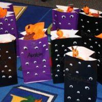 Halloween Arts & Crafts: Google Eye Bags