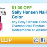 $1/1 Sally Hansen Crackle Overcoat Printable Coupon