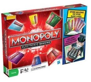 Winner, Winner, WINesday #3: Monopoly Electronic Banking Edition Product Review and Giveaway!
