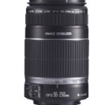 Canon EF-S 55-250mm f/4.0-5.6 IS Telephoto Zoom Lens for $144 shipped