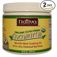 Nutiva Organic Extra Virgin Coconut Oil, 15-Ounce Tubs (Pack of 2) Only $6.08 each Shipped!