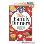 FREE Kindle Book: Quick & Easy Family Dinners Cookbook
