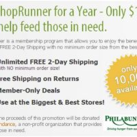 *HOT* One Year ShopRunner Membership for Only $1.00