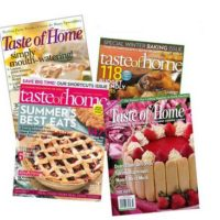 Taste of Home Magazine Only $3.99/Year