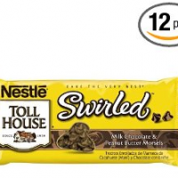 Nestle Toll House Milk Chocolate & Peanut Butter Swirled Morsels (Pack of 12) for $17.67 Shipped
