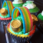 Over the Rainbow Cupcakes