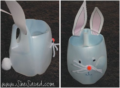 Shes crafty easter bunny milk jug craft save shes crafty easter bunny milk jug craft negle Image collections