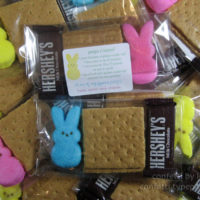 Easter Treats: Peeps Smores