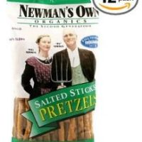 Newman's Own Organics Pretzels 12 pack for $14.73 Shipped