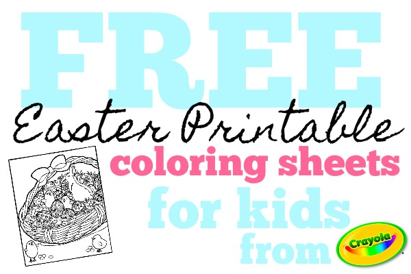 Easter Printable Sheets