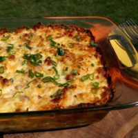 She Bakes! Guest Post from Pocket Change Gourmet: Ham and Potato Casserole