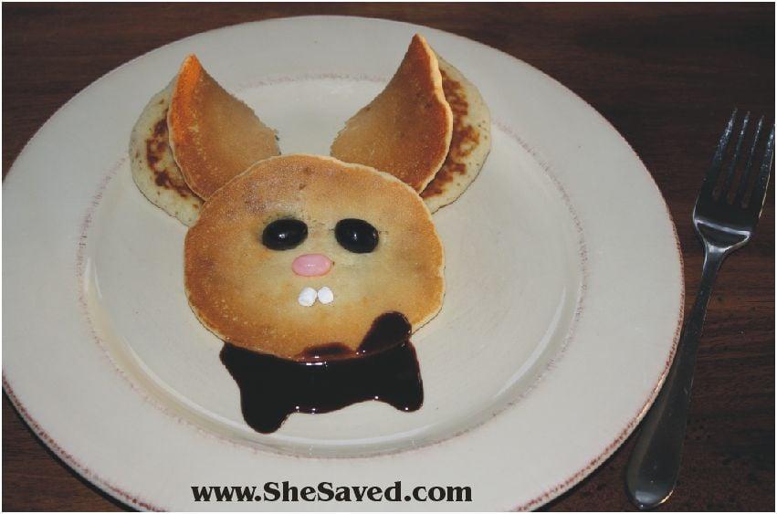 She's Creative: Bunny Pancakes