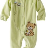 Carters Baby-Boys Newborn Cute Bear Velour Coverall for $3.78 Shipped