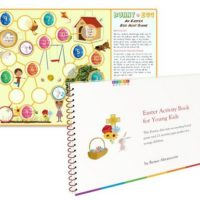 Free Easter Activity Book for Kids!