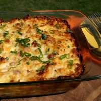 Ham and Potato Casserole from Pocket Change Gourmet