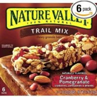 Nature Valley Chewy Trail Mix Cranberry & Pomegranate 6-Count Boxes (Pack of 6) for $11.58 Shipped