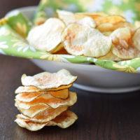 Microwaved Potato Chips