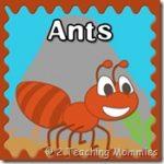 Free Ant Preschool Printables