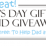 Father's Day Gift Guide Giveaway #3 – Helping Dad at Work