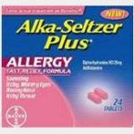 $2/1 Alka-Seltzer Plus Allergy Product Printable Coupon