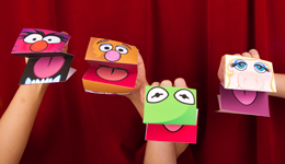 photograph about Free Hand Puppet Patterns Printable referred to as Totally free Printable: Muppet Hand Puppets - SheSaved®