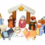 Kurt Adler 10 Piece Nativity Set for $33.46 Shipped