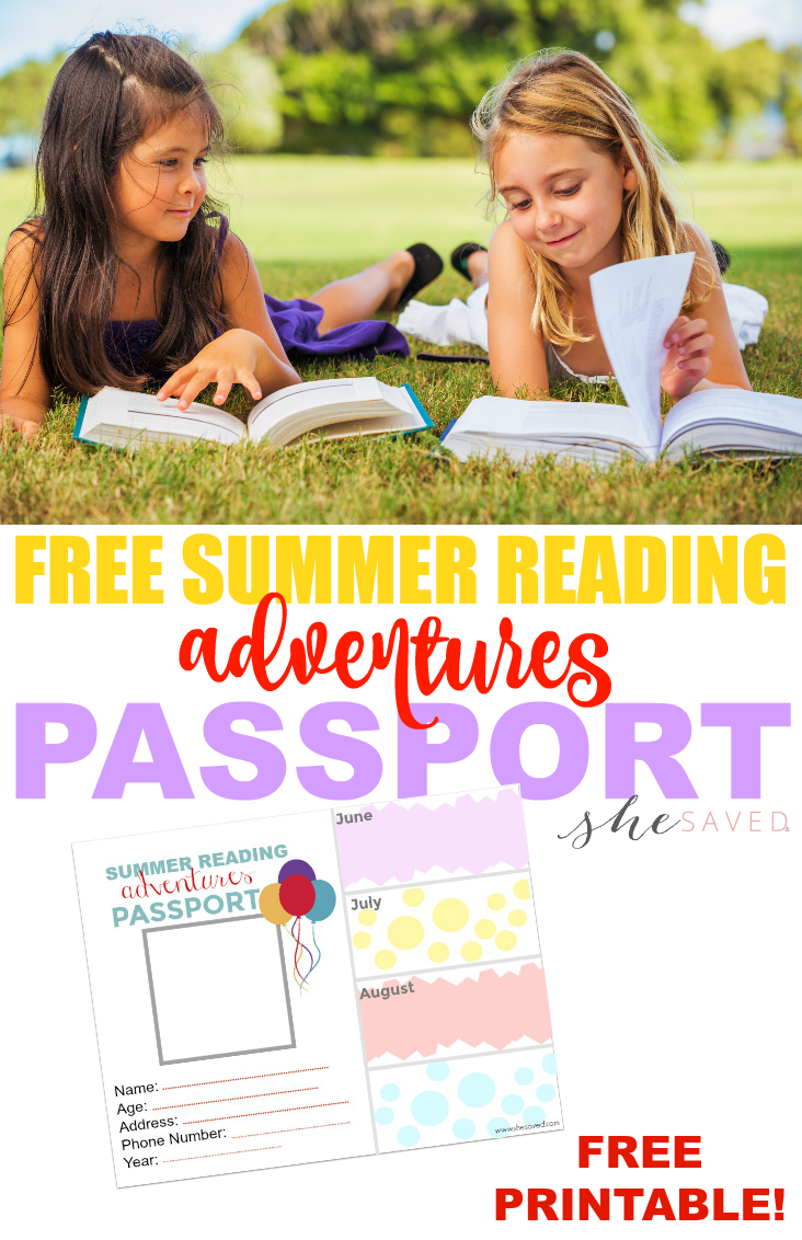Keep kids reading this summer with my FREE Summer Passport Printable!