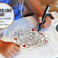 Free Summer Love Art Printable