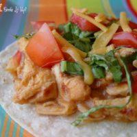 Creamy Chicken Tacos