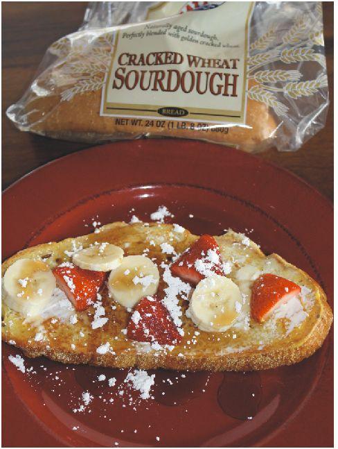 Breakfast Recipe | Sourdough Cream Cheese French Toast