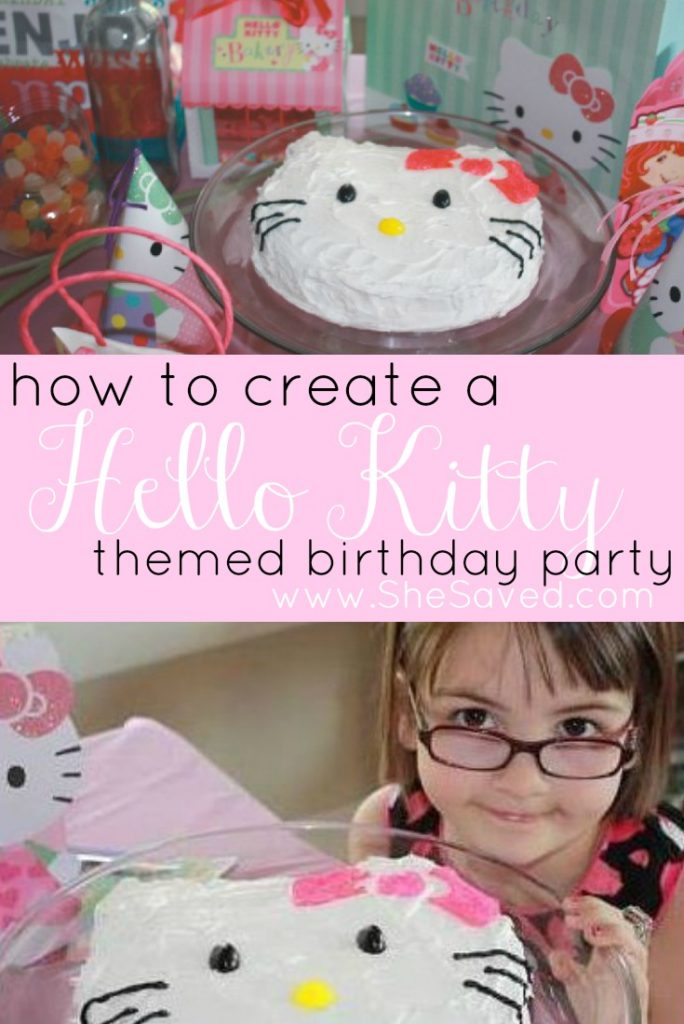 Creating a Hello Kitty Birthday Party is easy and fun! Check out my step by step ideas for making a fun Hello Kitty party and Hello Kitty cake for your little Hello Kitty fan!